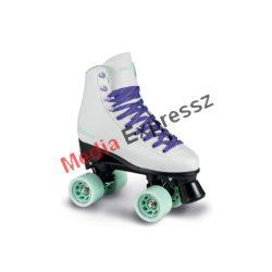 Playlife Melrose white  párhuzamos-retro-quad-kétsoros négykerekű görkorcsolya