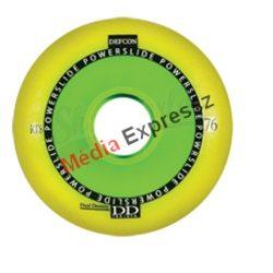 Powerslide Defcon RTS 76mm  vagy 80mm yellow kerék 4 db/szett