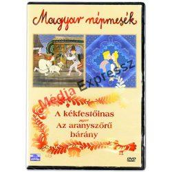 Magyar Népmesék: Aranyszőrű bárány, Kékfestőinas