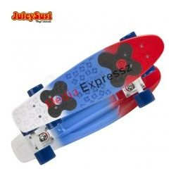 Juicy Susi vinyl board 2nd. generation red/blue