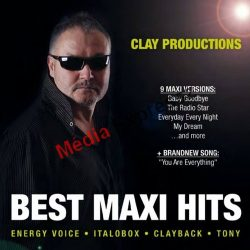 Clay Productions - Best Maxi Hits CD