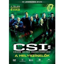 CSI - A helyszínelők 2. évad (6 DVD)