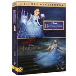 Hamupipőke Díszdoboz 2 filmes gyűjtemény Rajzfilm+élőszereplős DVD