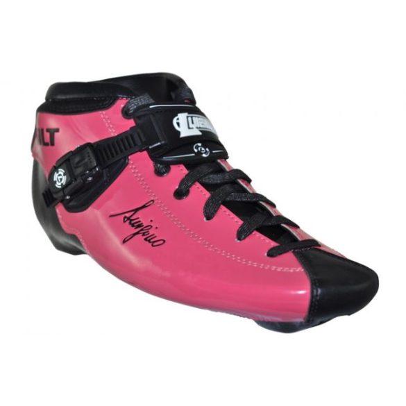 55d97a893f9a Bolt Gyorsasági Görkorcsolya Cipő (Luigino Boolt Boot White ...
