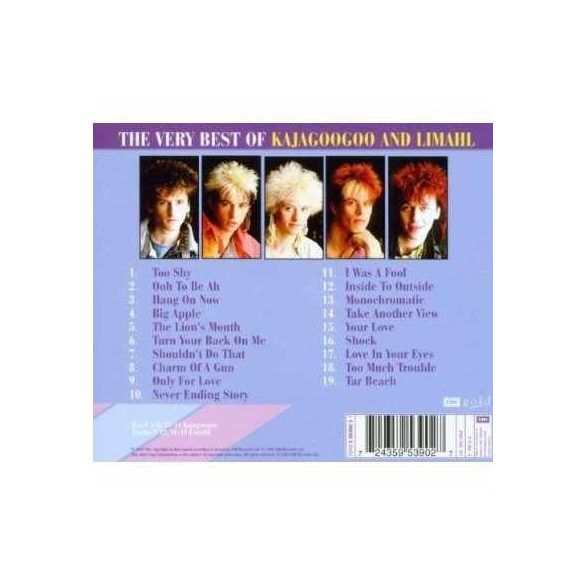 Kajagoogoo And Limahl - The Very Best of (Akció!)