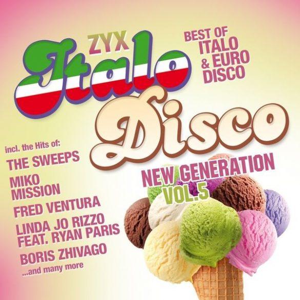 ZYX Italo Disco New Generation Vol. 5 (2 CD) (Dupla CD)