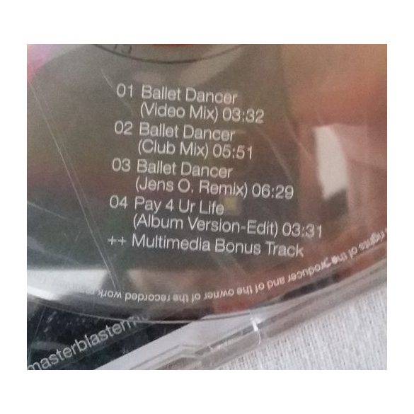 Master Blaster - Ballet Dancer (Maxi CD)