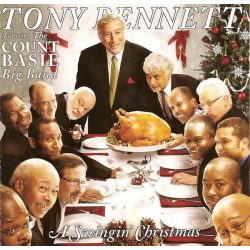 Tony Bennett Feat. The Count Basie Big Band ‎– A Swingin' Christmas
