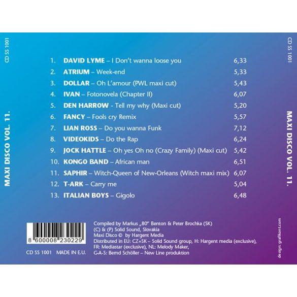 MAXI DISCO Vol. 11. - Válogatásalbum