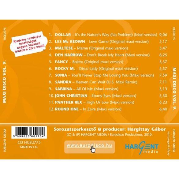 MAXI DISCO Vol. 9. - Válogatásalbum