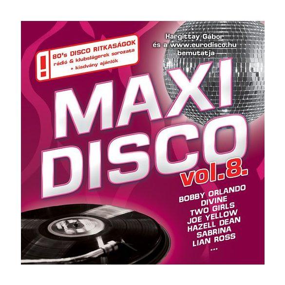 MAXI DISCO Vol. 8. - Válogatásalbum (Utolsó darabok!!!)