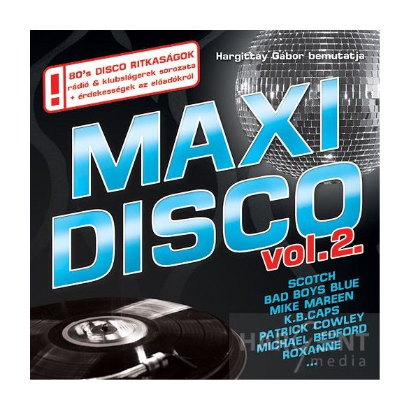 MAXI DISCO Vol. 2. - Válogatásalbum