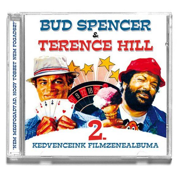 BUD SPENCER & TERENCE HILL - Kedvenceink Filmzenealbuma 2. CD