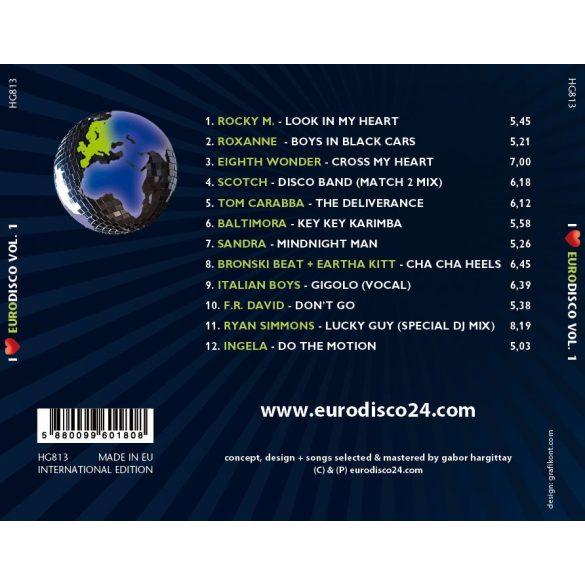 I LOVE EURODISCO Vol. 1. - Válogatásalbum