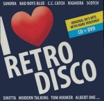 I LOVE RETRO DISCO - Válogatásalbum  (CD+DVD)