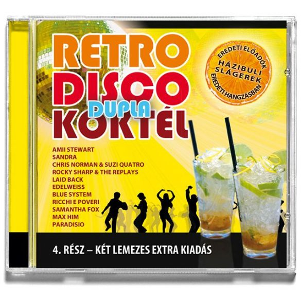 Retro Disco Cocktail 4   (Dupla CD)