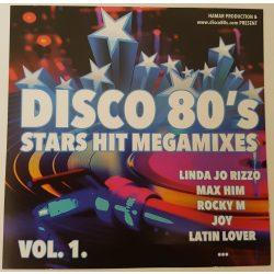 Stars Hit Megamixes (Disco 80's ) Celofán nélkül karcmentes