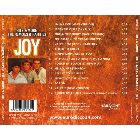 JOY - HITS & MORE - THE REMIXES
