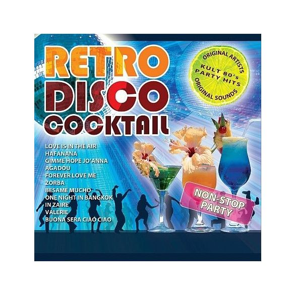 Retro Disco Cocktail 1