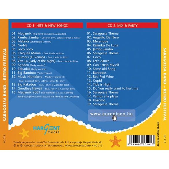SARAGOSSA BAND - Retro Festival (2 CD)