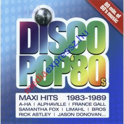 Disco Pop 80 s Maxi Hits 1983- 1989 - Maxi Hits Vol 1 CD
