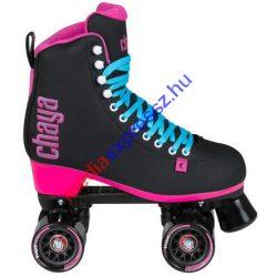 Chaya Melrose Black /Pink   Kétsoros retro párhuzamos négykerekű quad görkorcsolya