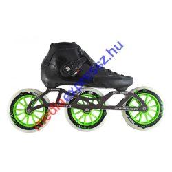 Luigino STRUT set black 3x125mm kerékkel (fekete)
