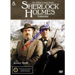 Sherlock Holmes kalandjai 5 DVD