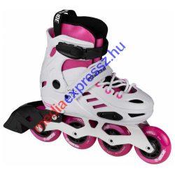 Powerslide KHAAN Jr. SQD white/pink görkorcsolya