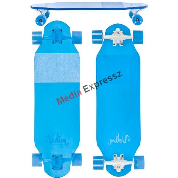 Volten Clear series Ice blue  longboard