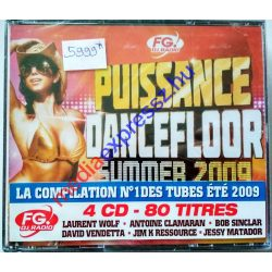Puissance Dancefloor -  Summer 2009 (4 CD)