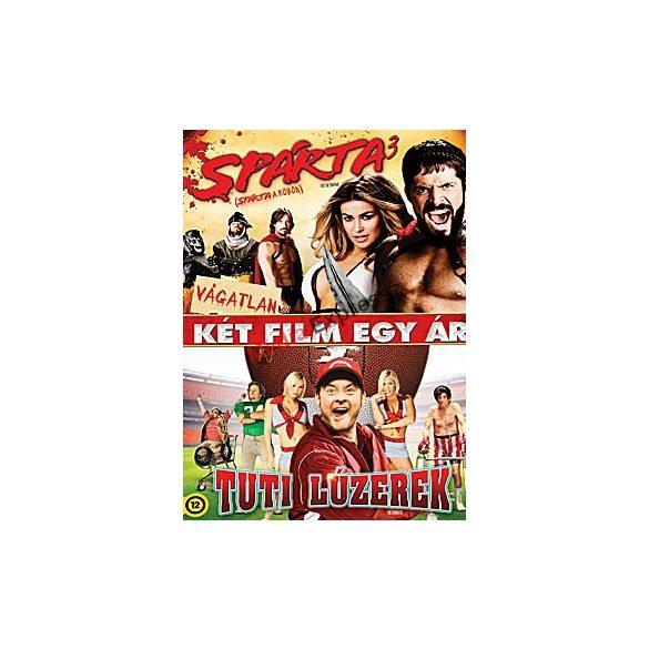 Tuti lúzerek / Spárta3 (Spárta a köbön) (2 DVD)