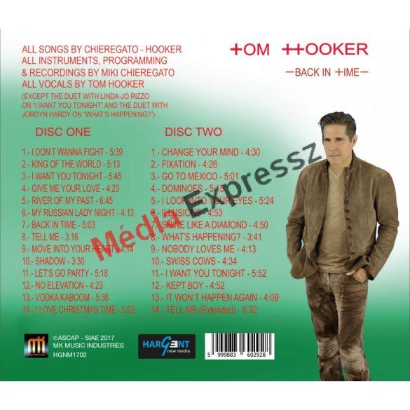 TOM HOOKER - BACK  IN TIME  -  THE ITALO DISCO ALBUM 2CD (Den Harrow 1-2.lemezén ő énekelt)