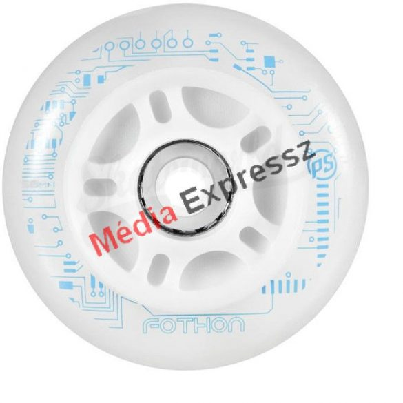 Powerslide Nightwheels Fothon 100mm / 82A white világítós kerék 4 db