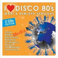 I LOVE DISCO '80 S - MAXI & REMIXED VERSIONS 2CD