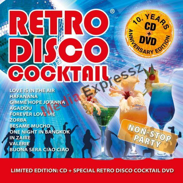 Retro Disco Cocktail CD+DVD  10.Years Anniversary Edition