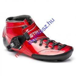 Luigino Strut Gyorsasági Görkorcsolya Cipő ( Luigino Strut Boot Red )