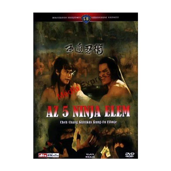 Az 5 Ninja Elem ÚJSZERŰ dvd