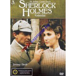 Sherlock Holmes kalandjai 3 DVD