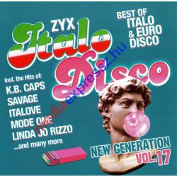ZYX Italo Disco (New Generation vol. 17) 2db CD