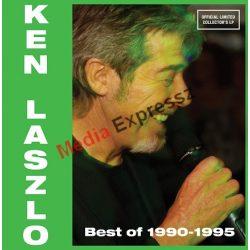 KEN LASZLO BEST OF 1990-1995 LP,VINYL,BAKELIT LEMEZ, OFFICIAL LIMITED COLLECTOR'S 250 COPIA