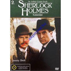 Sherlock Holmes kalandjai 2 DVD