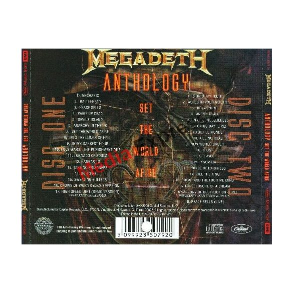 Megadeth - Anthology - Set The World Afire (2 CD)