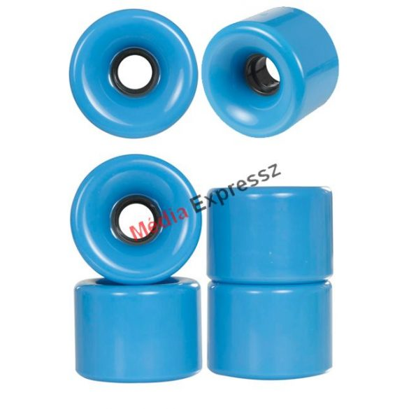 Powerslide Blank Roller Derby 70x51mm / 78A blue vagy green színben 4 db
