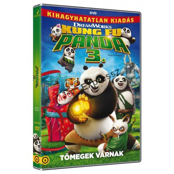 Kung Fu Panda 3. Tömegek Várnak DVD
