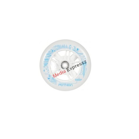Powerslide Nightwheels Fothon 125mm / 82A white világítós kerék