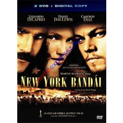 New York bandái DVD (2 db DVD + Digital copy)
