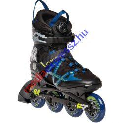 K2 FIT 84 Speed Boa black/blue/yellow görkorcsolya