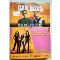 Bad Boys - Mire jók a rosszfiúk és Charlie angyalai - Tűzből sosem elég  twinpack