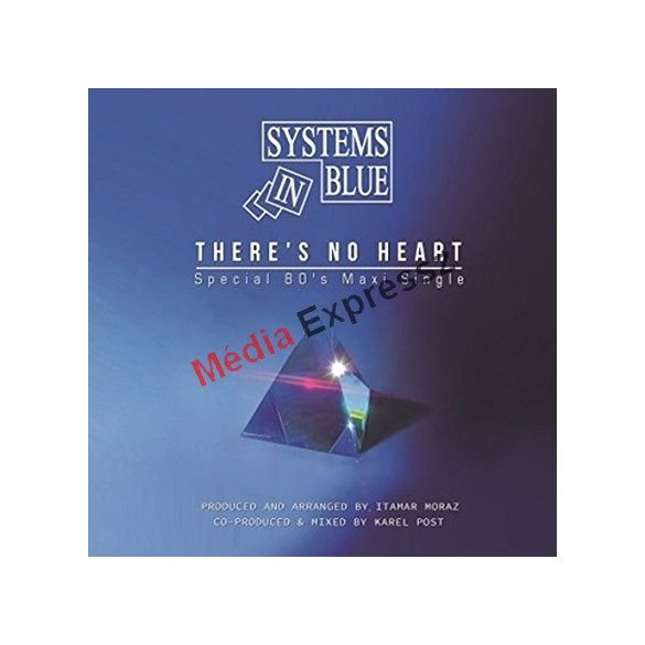 SYSTEMS IN BLUE - THERE'S NO HEART MAXI LP VINYL